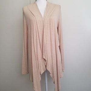 Dusty Muted Rose Open Cardigan